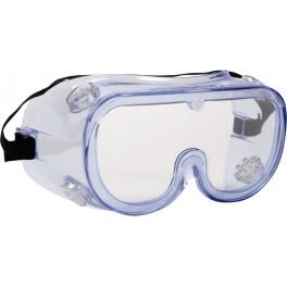 Thor Sikkerhedsbrille i PVC, klar linse