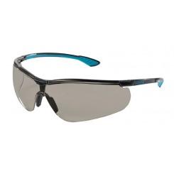 UVEX Sikkerhedsbrille, antidug og ridsefast, mørk linse